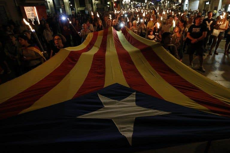 Le défilé du jour: Barcelone