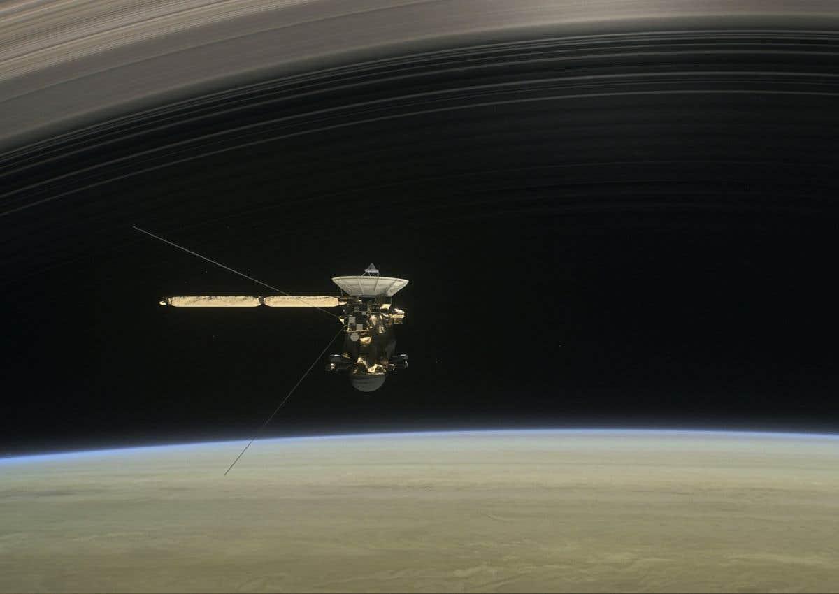 Les dernières heures de Cassini