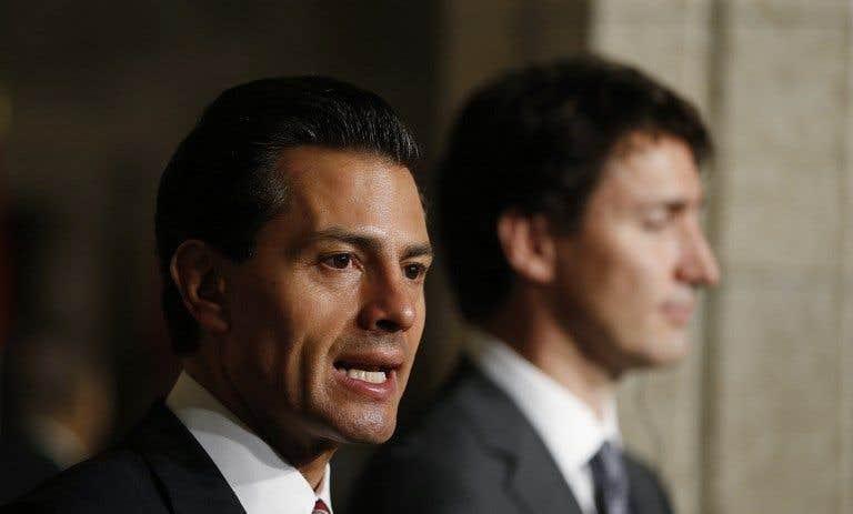 La rencontre du jour: Trudeau-Peña Nieto