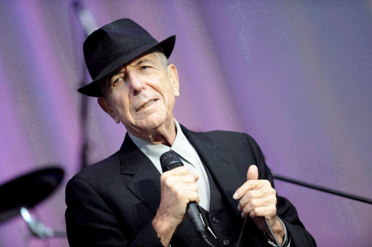 Leonard Cohen en façades