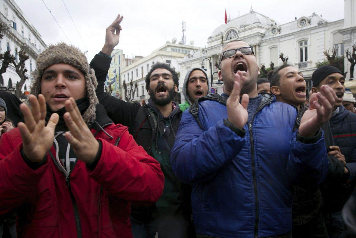 Fièvre contestataire en Tunisie