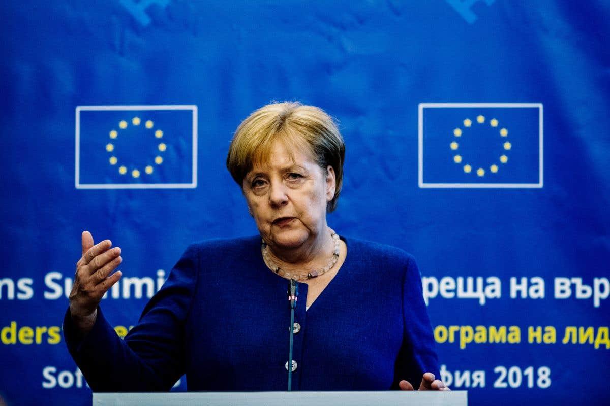 Merkel à Sotchi