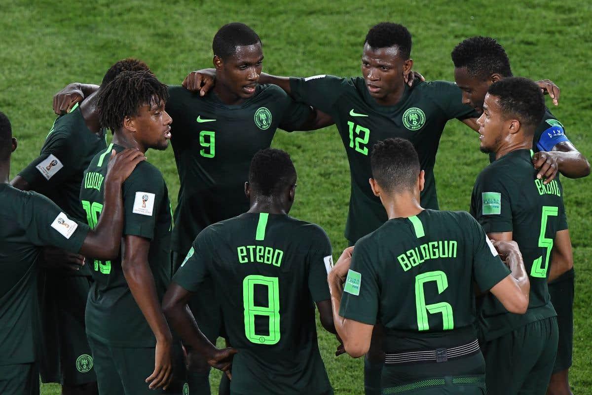 L'Argentine derrière le Nigeria