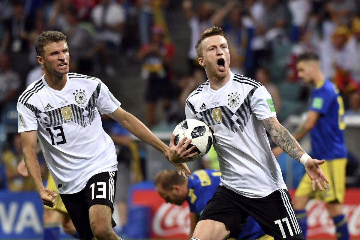 Corée du Sud-Allemagne, Mexique-Suède