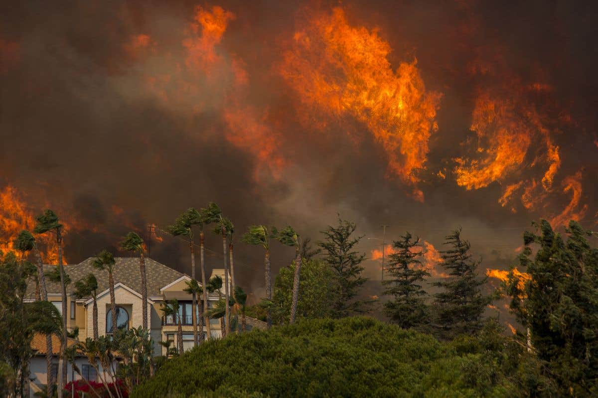 À l'œil: incendies en Californie