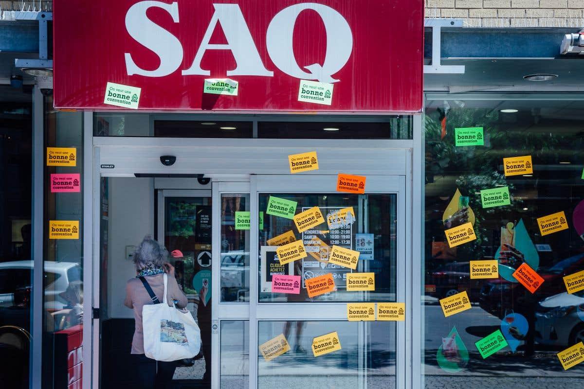 Trois jours de grève pour la SAQ