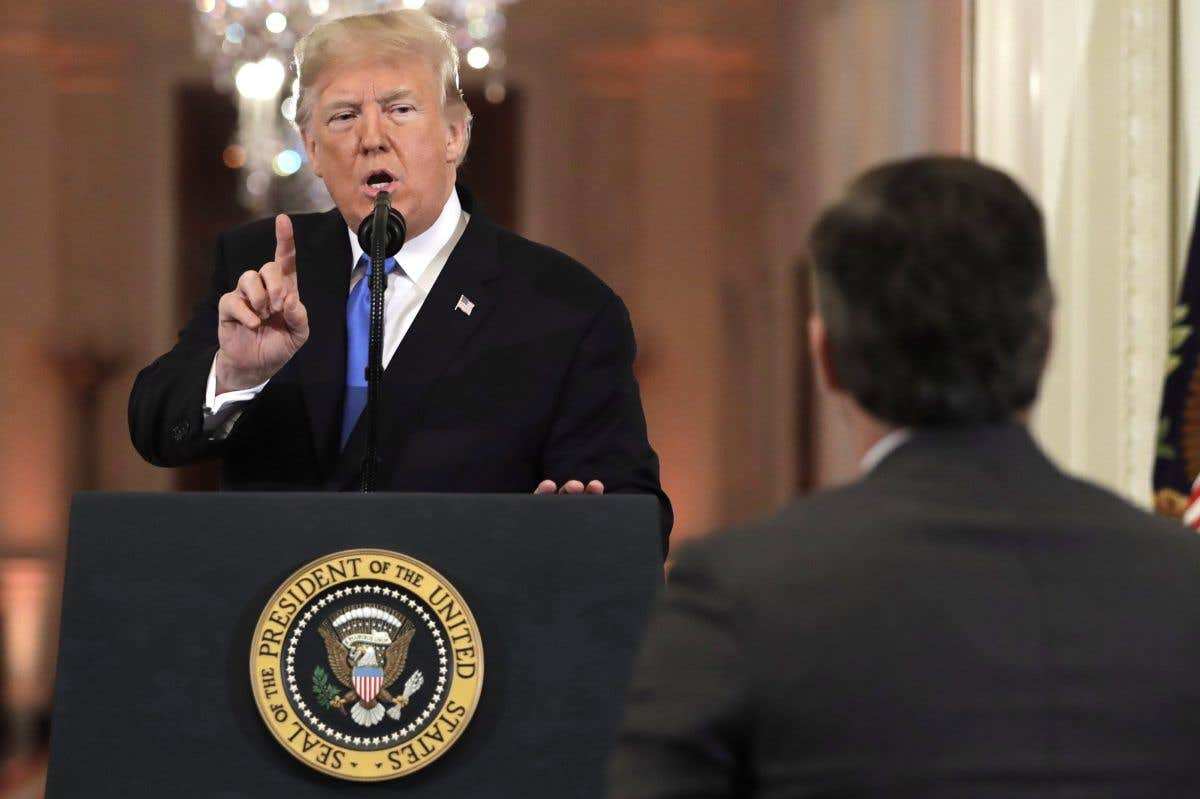 La décision du jour: CNN c. Trump