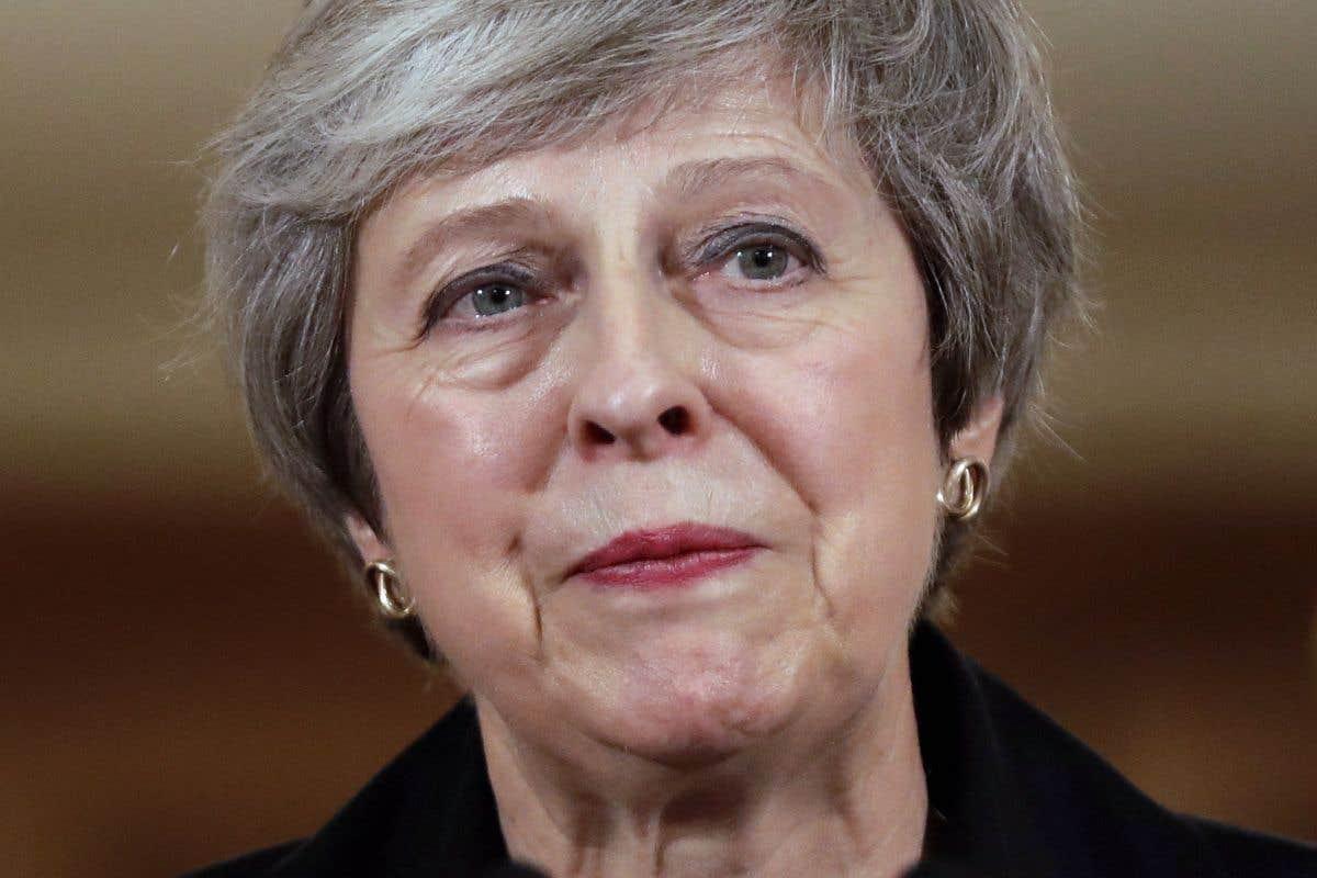 Theresa May devant le patronat