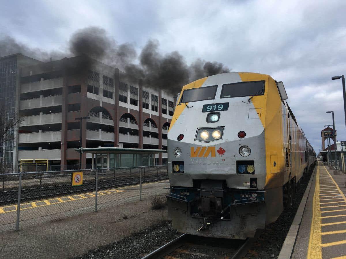 VIA Rail va de l'avant avec son train à grande fréquence