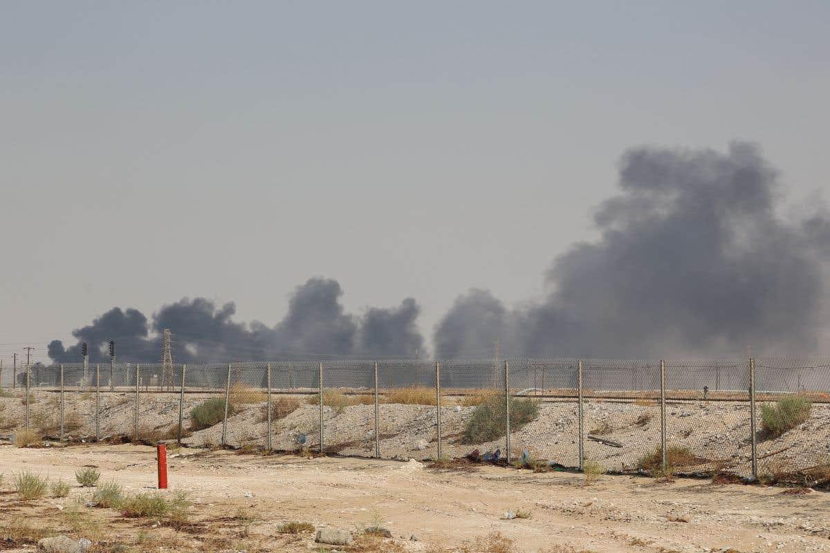 Frappe de drone en Arabie saoudite
