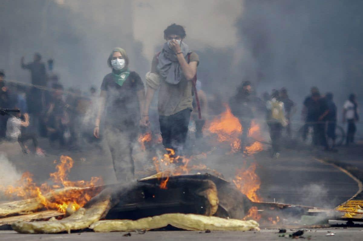 Explosion sociale au Chili