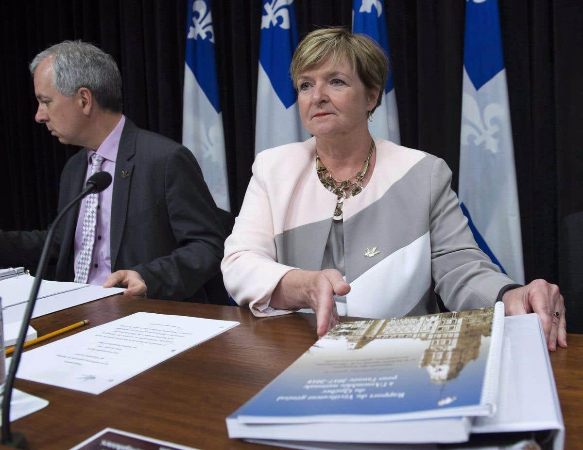 Le rapport du jour: la vérificatrice générale du Québec