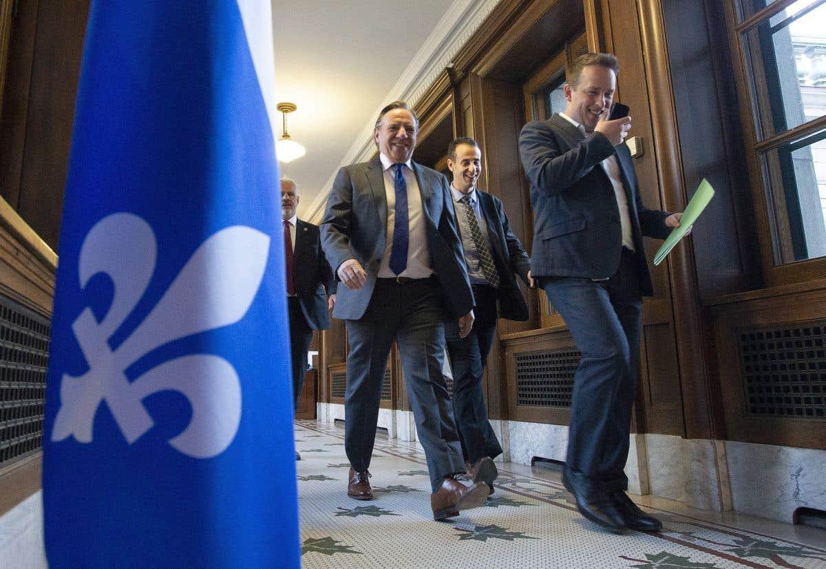 François Legault en mission économique