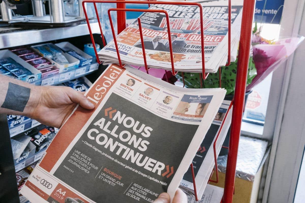 La manif du jour: Groupe Capitales Médias