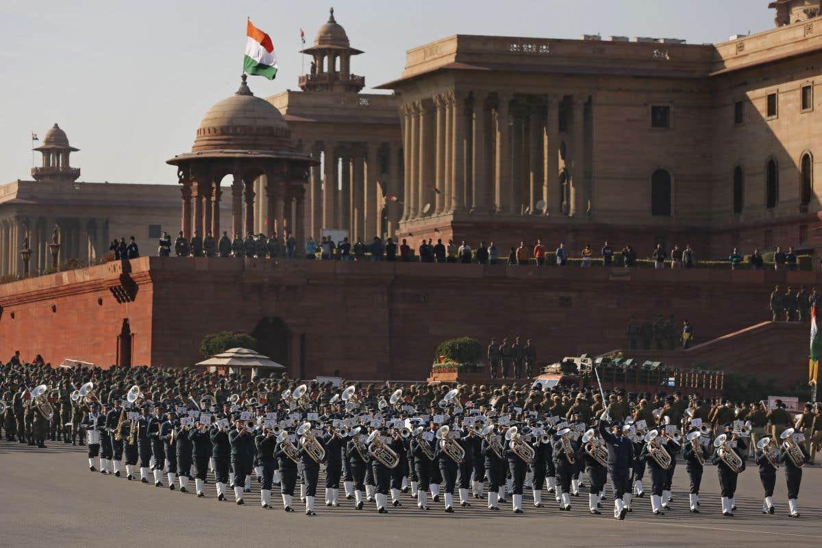 Le Jour de la République en Inde