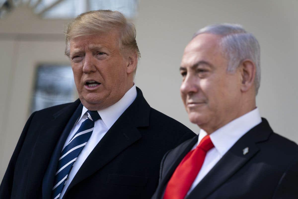 Trump présente son «plan de paix» pour le Moyen-Orient