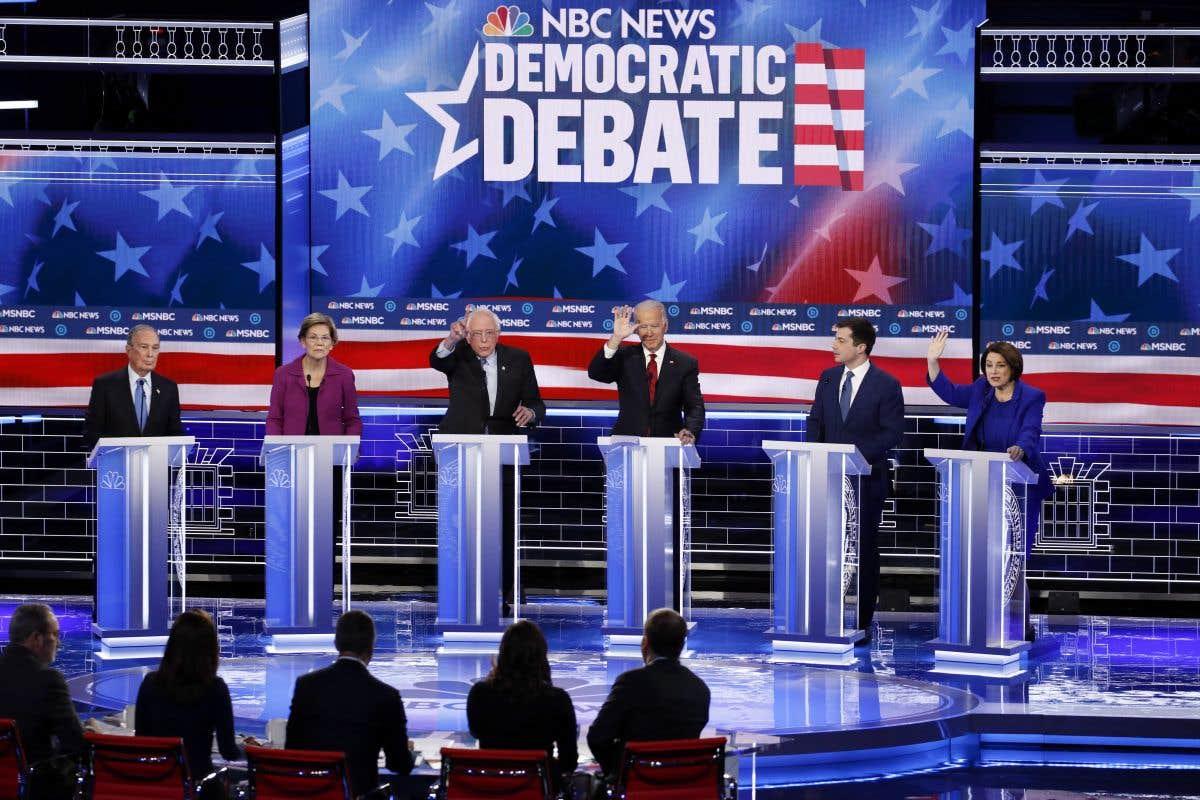 Les démocrates débattent en Caroline du Sud