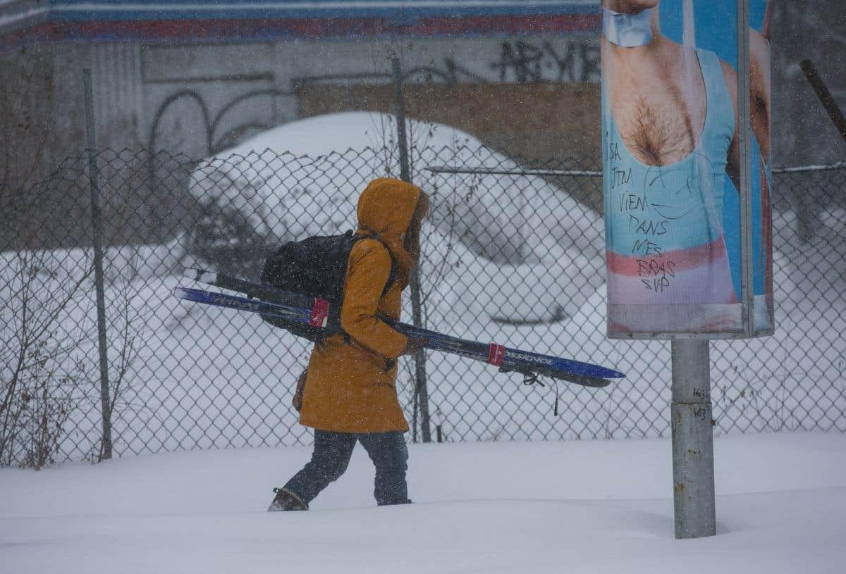 Un 27février sous la neige