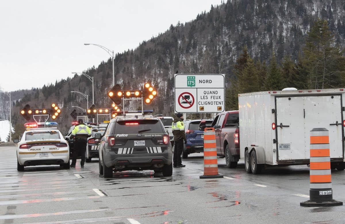 Des déplacements contrôlés au Québec
