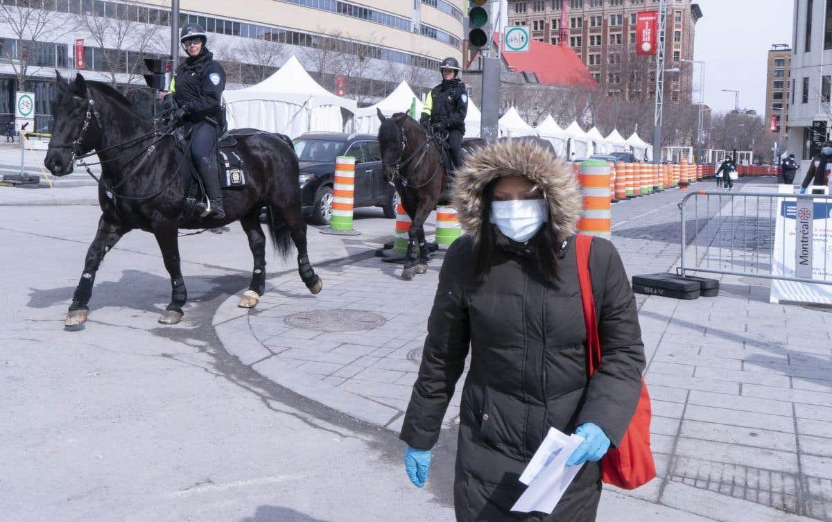 La propagation du coronavirus au Québec
