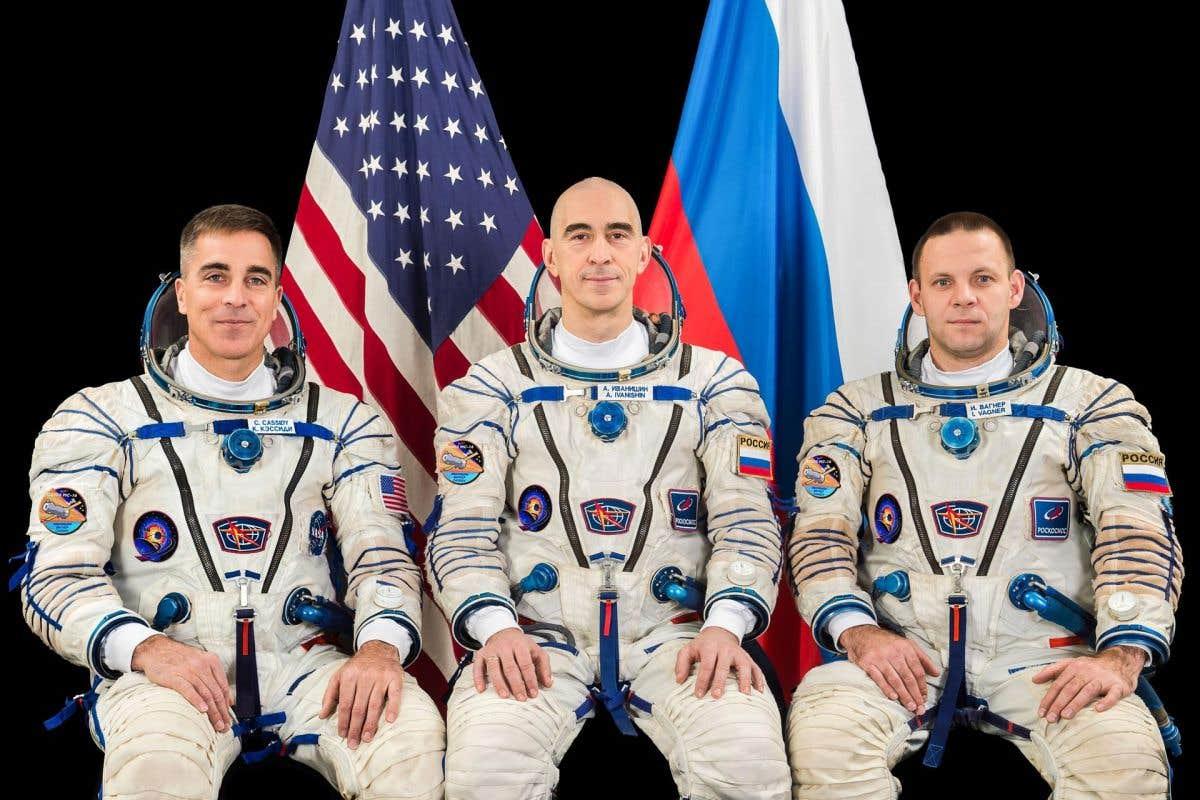 Trois aventuriers de l'espace