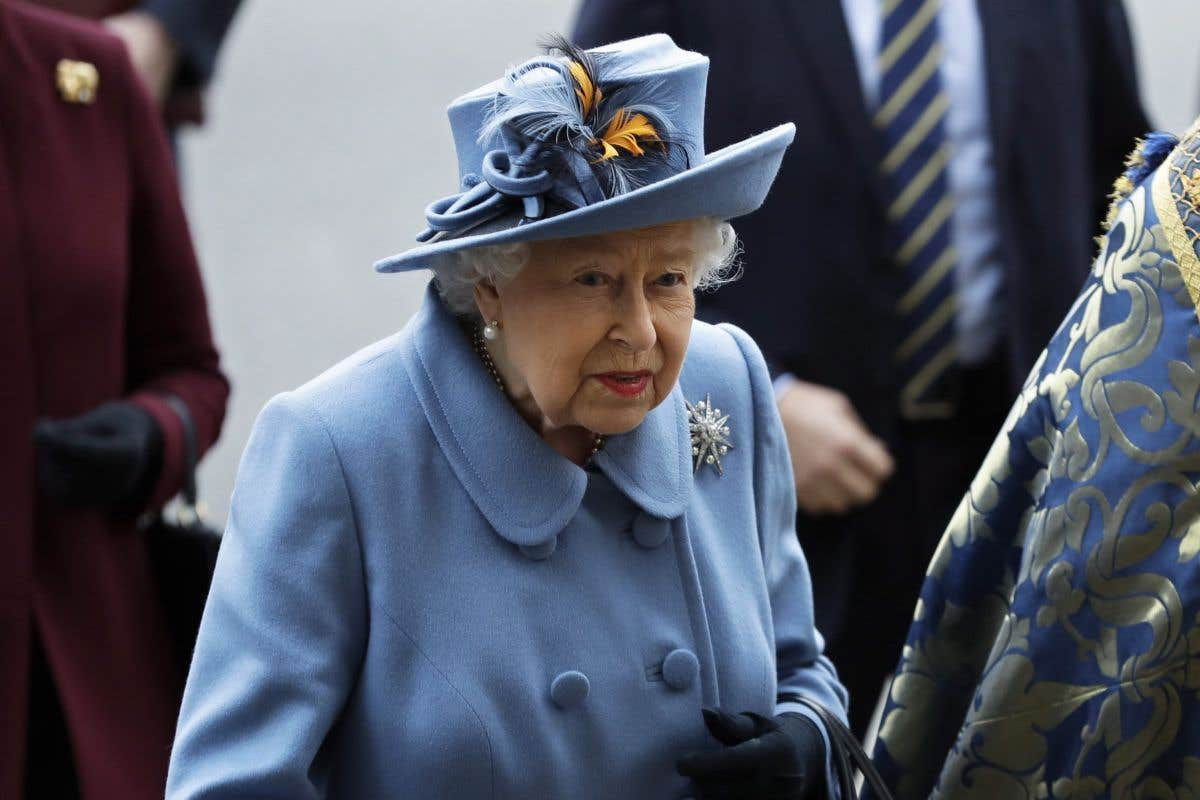 Les 94?ans de la reine élisabeth II