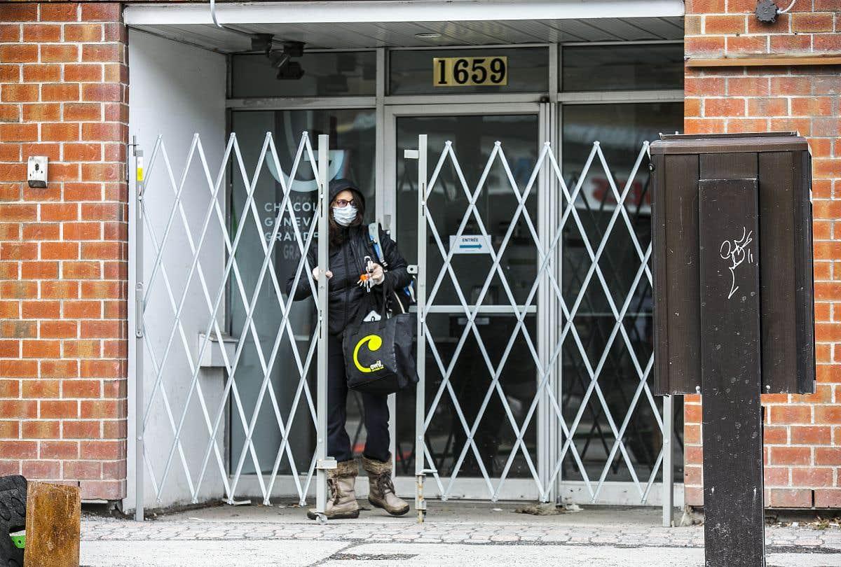 Réouverture de certains commerces à Montréal le 25mai