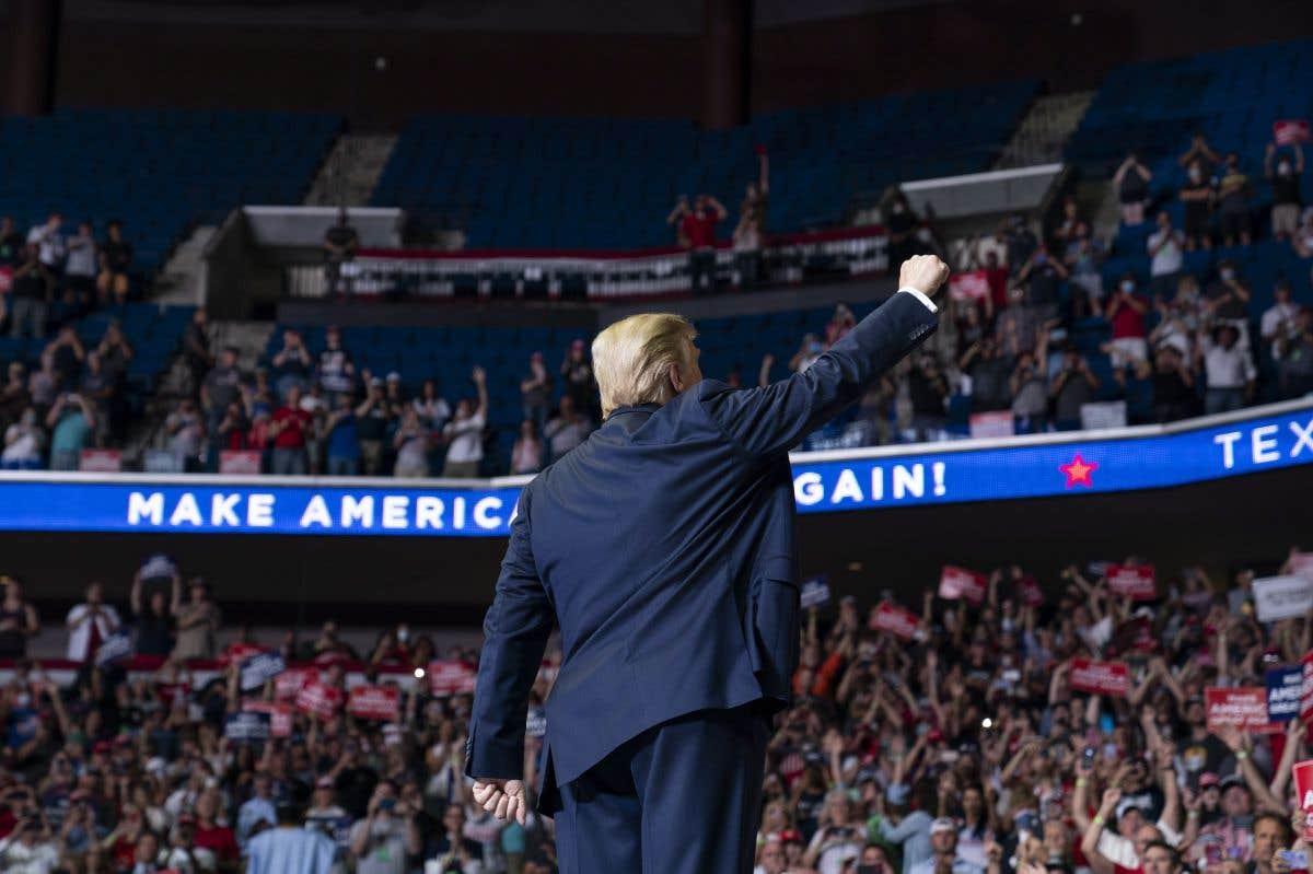 Trump tient son rassemblement à Tulsa, malgré la pandémie
