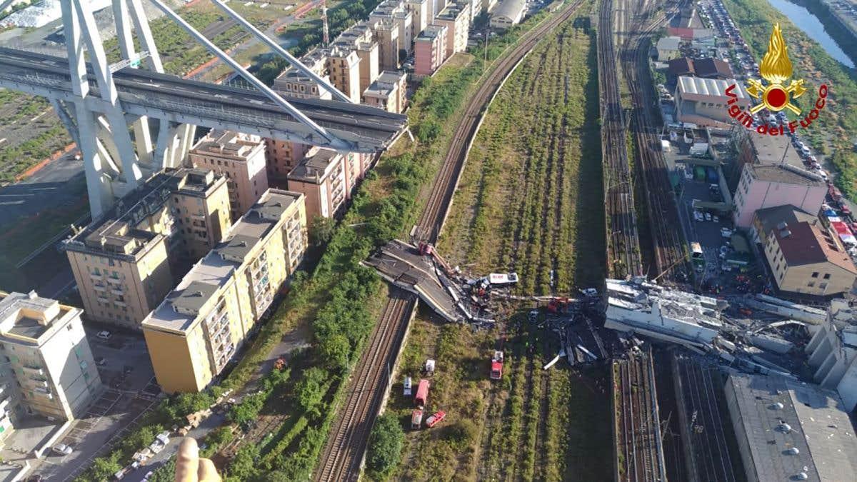 Un nouveau pont pour Gênes