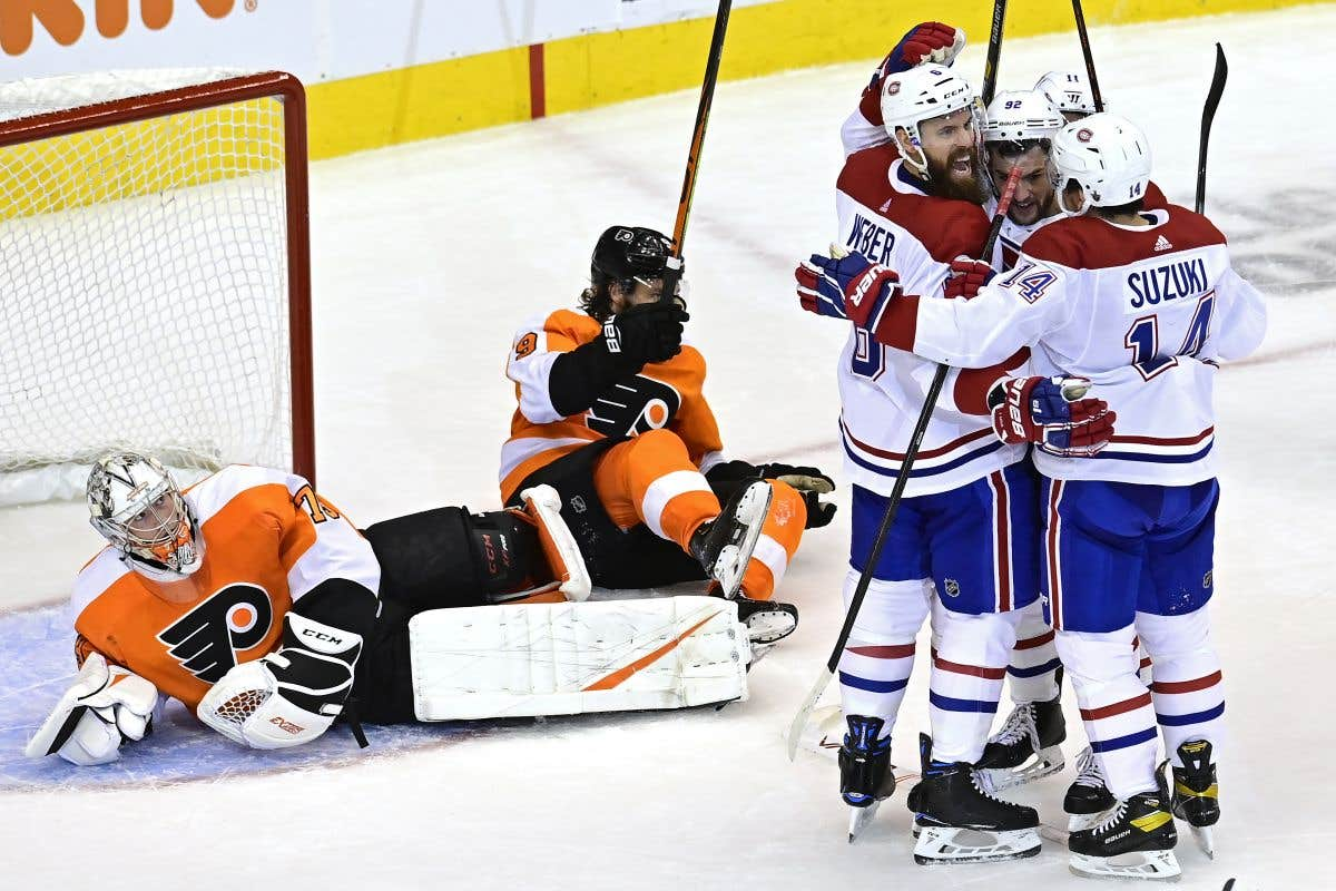 Le troisième match de la série Canadien-Flyers