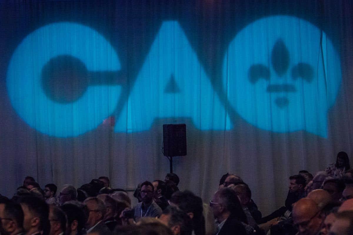 L'aile jeunesse de la CAQ en congrès