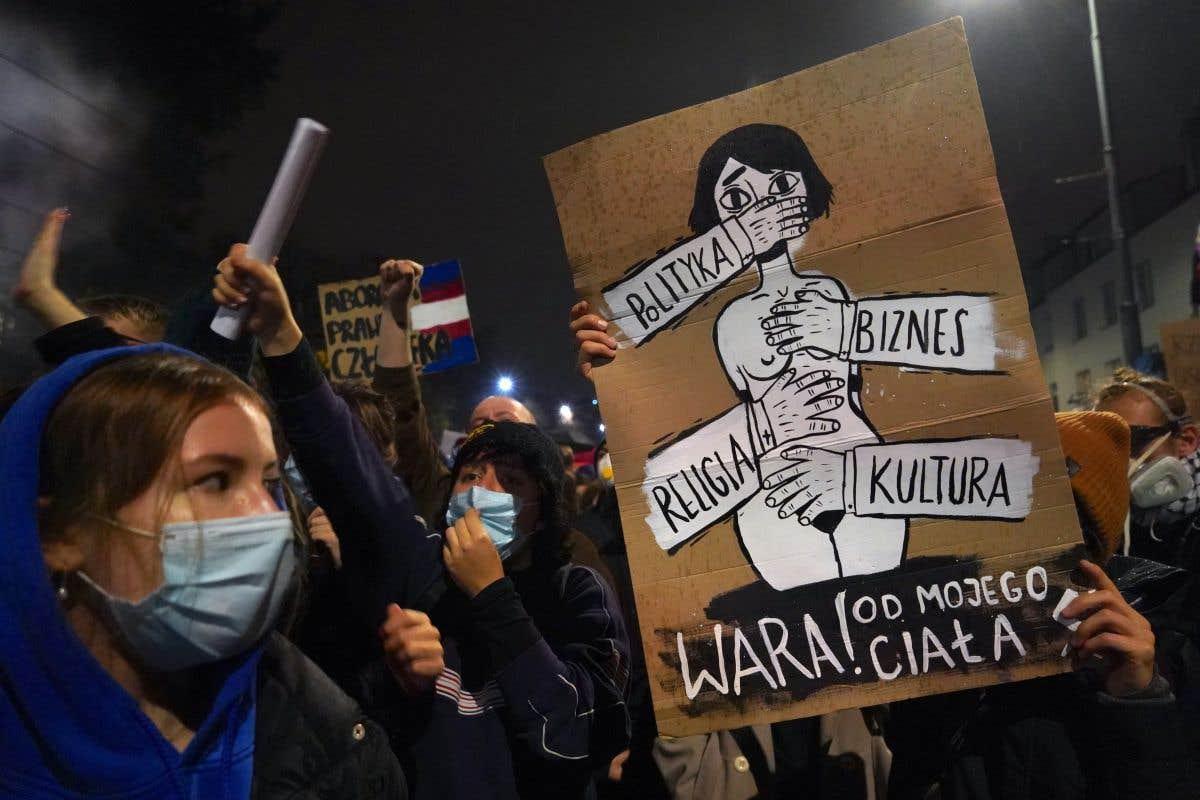 Contestation de l'interdiction presque totale de l'avortement en Pologne