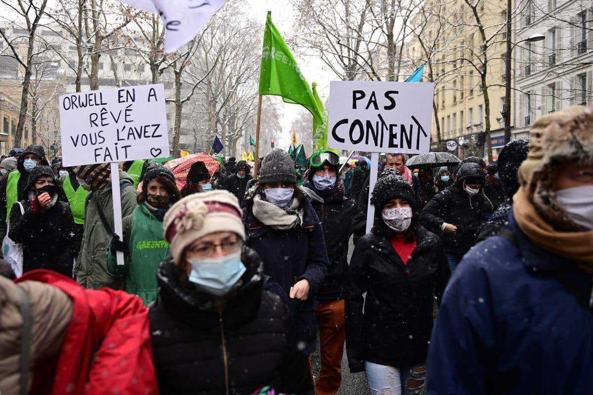 Retour des manifestations contre la loi «Sécurité globale»