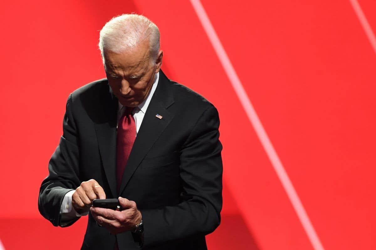 «M.Trudeau, c'est Joe Biden sur la 3»