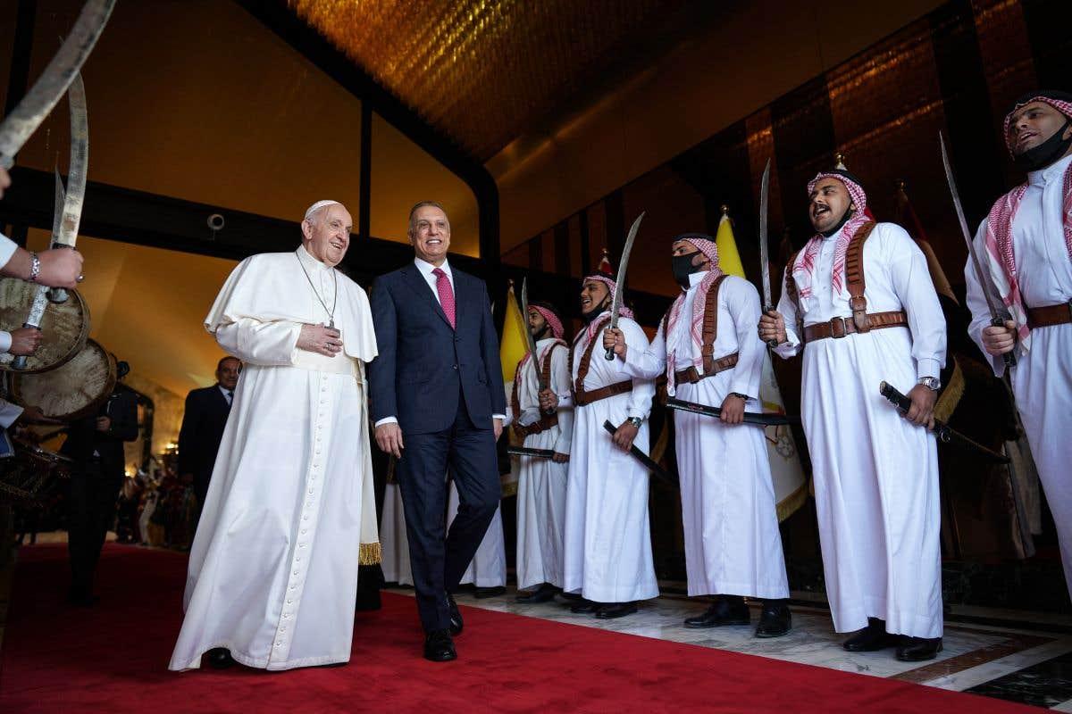 Le pape en tournée irakienne