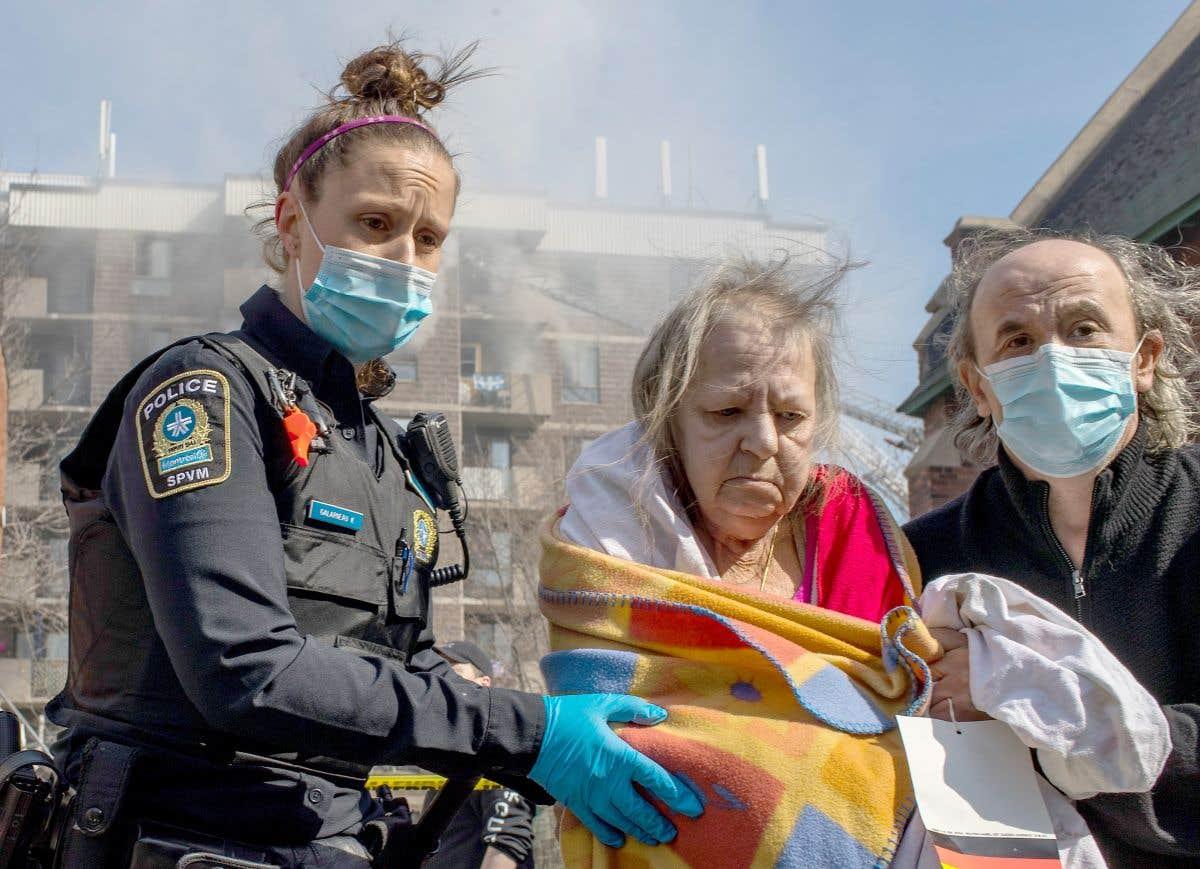 Un incendie meurtrier à Montréal