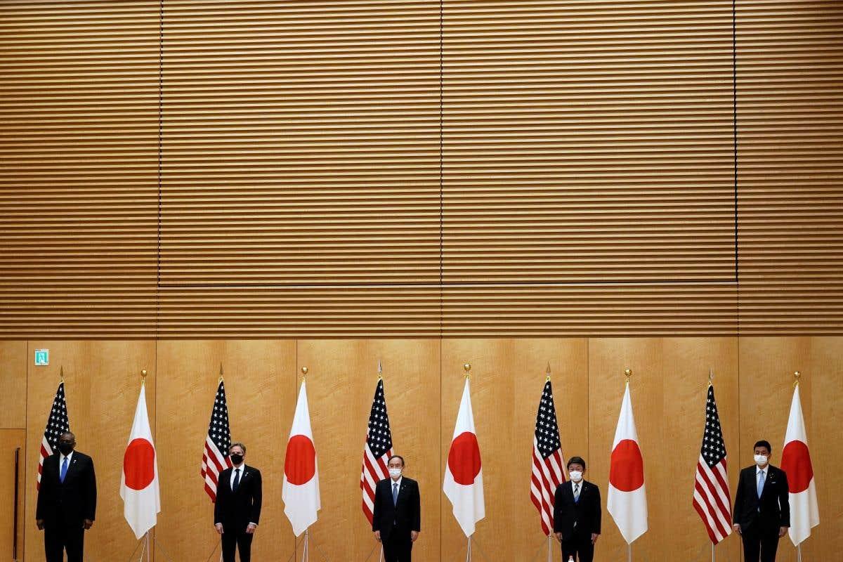 Biden reçoit le premier ministre japonais