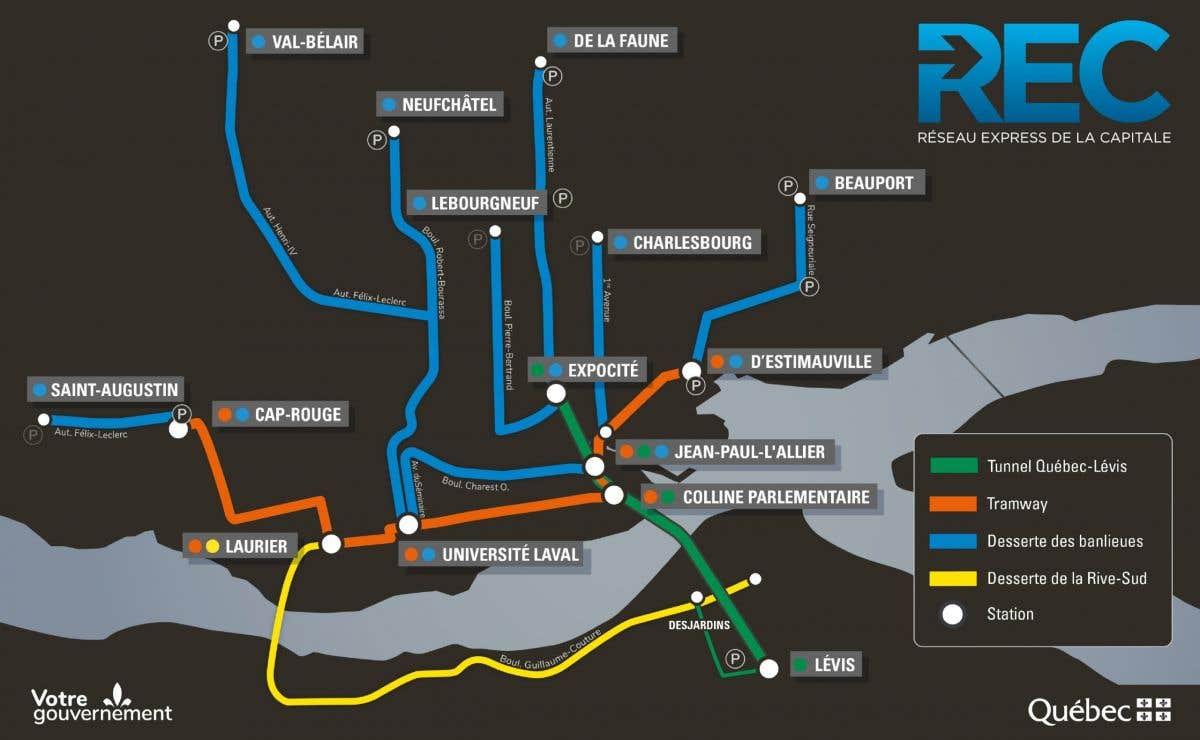 Les détails du troisième lien entre Québec et Lévis