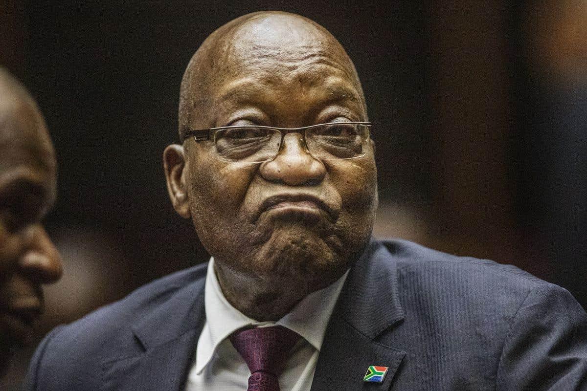 L'ancien président d'Afrique du Sud devant un tribunal