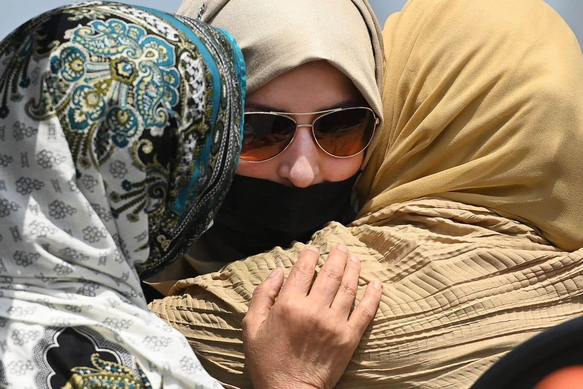 Funérailles de la famille musulmane