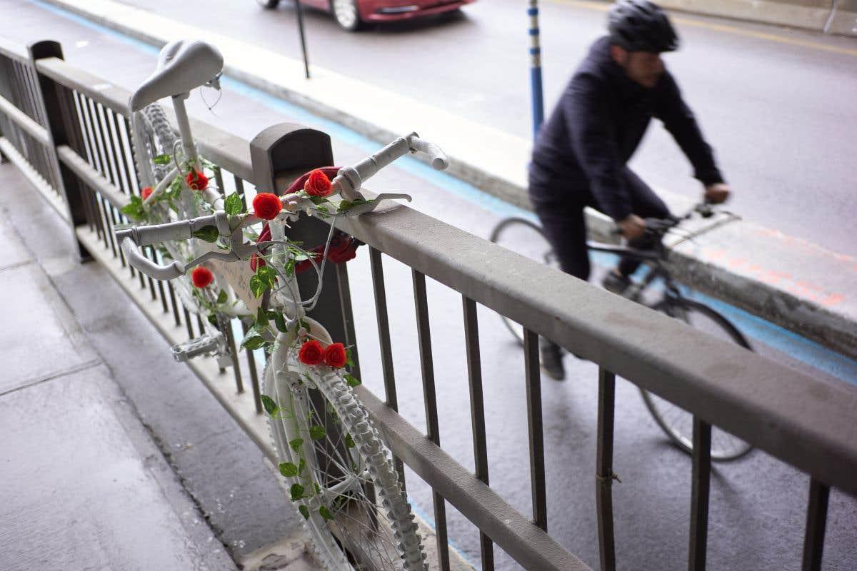 À la mémoire du cycliste Louis Morency