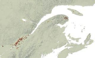 960 forages: un projet Web dans le cadre de notre dossier «L'éternelle quête de l'or noir»
