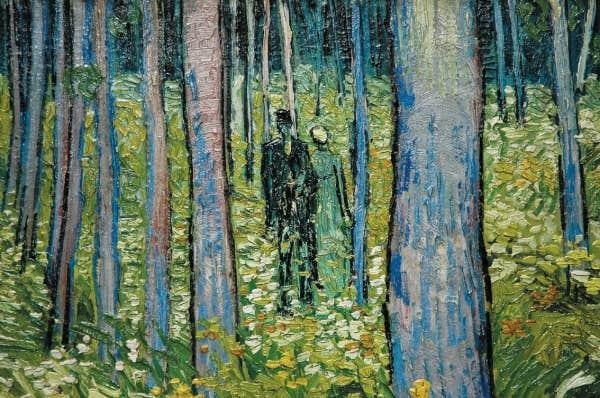 Sous les arbres - Victor Hugo Image