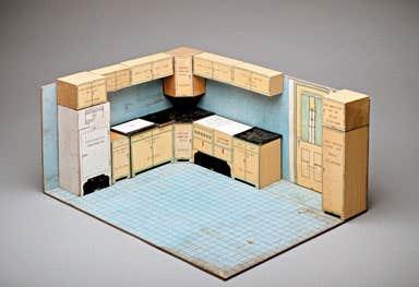 Le devoir for Maquette cuisine 3d