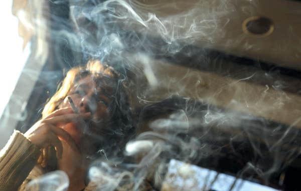 Comme cesser de fumer les cigarettes et le lait