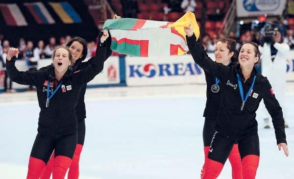 Coupe du monde une journ e historique pour nos patineurs le devoir - Coupe du monde historique ...