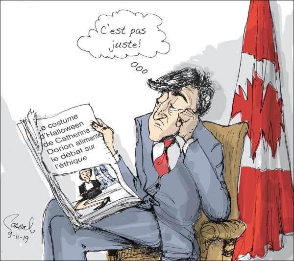 CARICATURES : politiques, judiciaires, sportives ... etc.    (suite 2) Le-coup-de-crayon-du-9-novembre