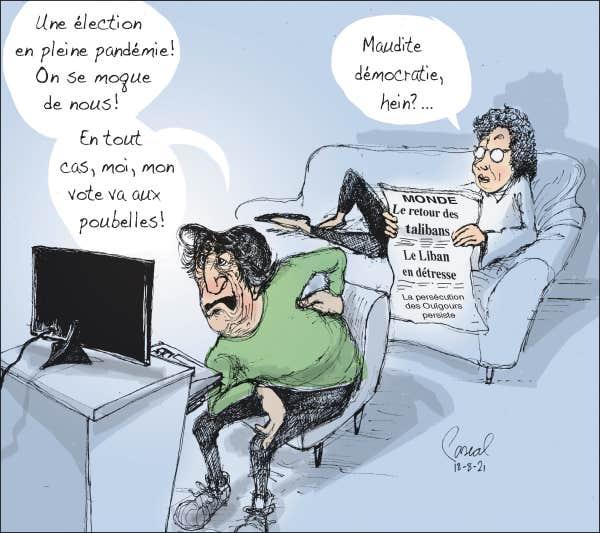 CARICATURES : politiques, judiciaires, sportives ... etc.    (suite 2) - Page 24 Le-coup-de-crayon-du-18-aout