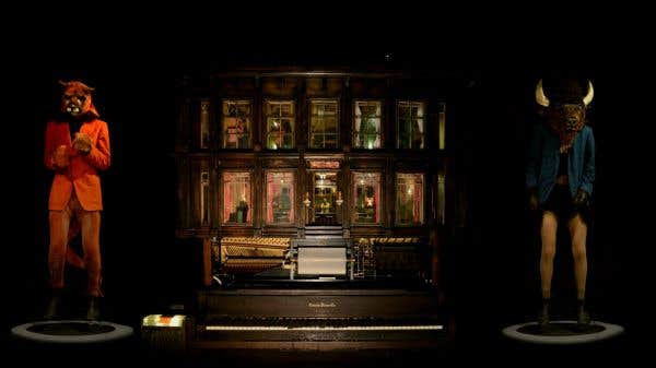 Graeme Patterson, Player Piano Waltz, 2013, installation.