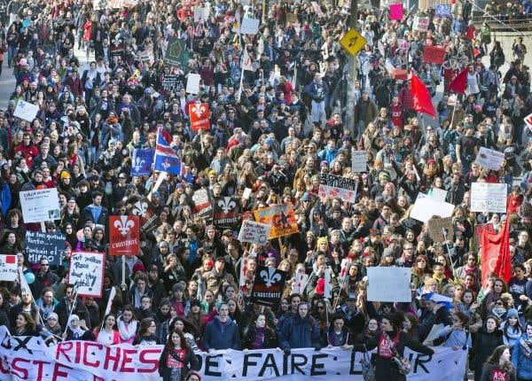 Une grève générale sur la table à l'automne